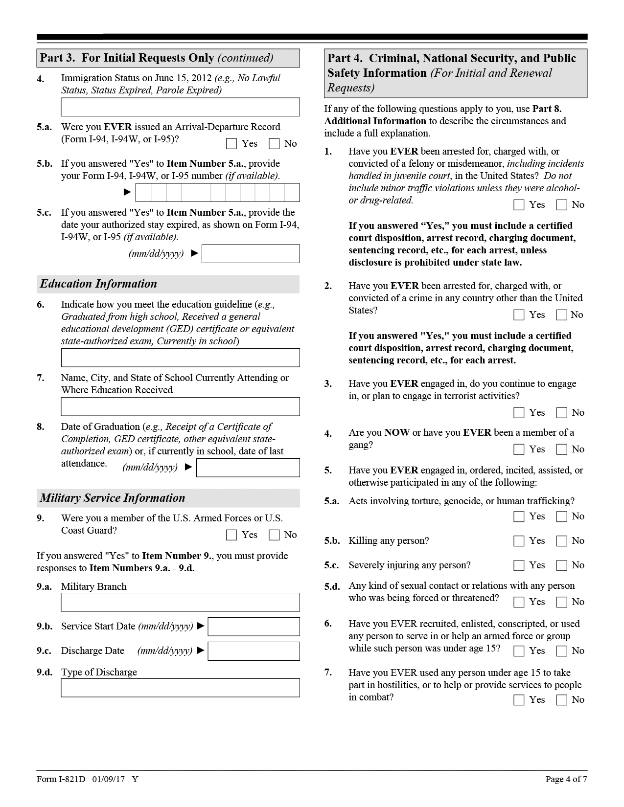 Here's The Deeply Personal Information DACA Applicants Have To ...